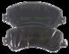 Pastilha de Freio Willtec Antirruído -  Volkswagen Amarok  - Ford Transit - Dianteira - PW858P