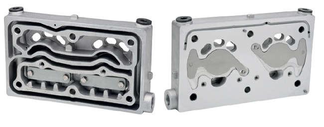 CABEÇOTE Inferior para COMPRESSOR W 2 Cil. - 85mm (O 500 UA) - FJ94205-4