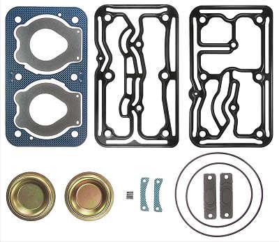 Jogo de Reparo Cabeçote para Compressor 2 Cilindros - 85mm (O 500 R) - 93955-2