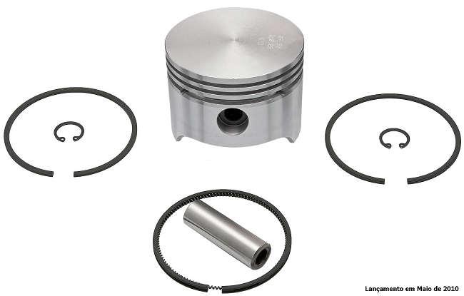 Jogo de Pistão com Anéis para Compressor LP 48 - 75mm (020) - FJ95035-020