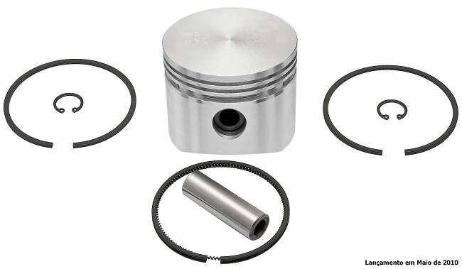 Jogo de Pistão com Anéis para Compressor - 88mm 010 (LK38 / LK39 / LP49) (FJ95045-010)