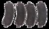 PASTILHA DE FREIO de Cerâmica S10 / Nova S10 / Novo Trailblazer - Dianteira - FP963