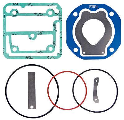 Jogo de Reparo para Cabeçote Compressor Mono - 88mm (Regulado) - Volvo - (FJ93165-2) - 93165-2