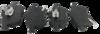 Pastilha de Freio Willtec - GM Astra / Meriva / Vectra / Zafira - TROLLER T4 - Dianteira - PW72