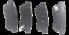 Pastilha de Freio JURID - HYUNDAI Azera / Sonata - KIA Tucson / Sportage - Traseira - HQJ4021A