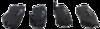 Pastilha de Freio LonaFlex - HYUNDAI Azera / Elantra / Santa Fé / Sonata / Tucson - KIA Carens / Magentis / Optima / Sportage - SSANGYONG Actyon / Rexton  - Traseira - P725