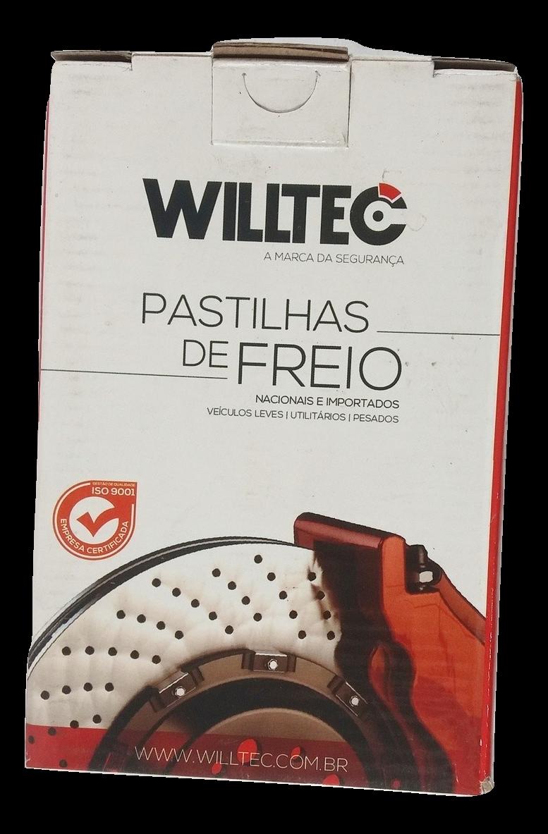 Pastilha de Freio Willtec - HYUNDAI Vera Cruz - JAC T8 - KIA Carnival / Sorento - Traseira - PW717