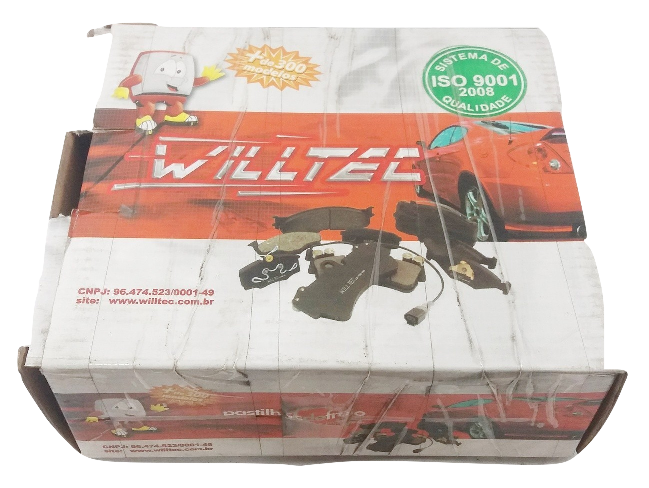 Pastilha de Freio Willtec - BMW 525i / 530i / 540i / 545i / 645i / 745i / M3 / M5 / M6 / X5  - Dianteira - PW775